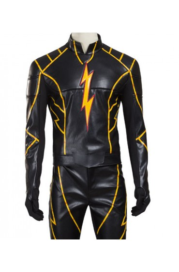 Flash Season 3 Black Racer Jacket
