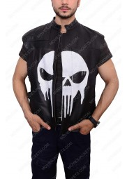 Frank Castle The Punisher Leather Vest