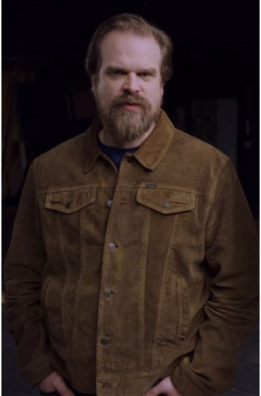 Frankenstein's Monster's David Harbour Jacket