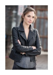 Fast and Furious 6 Movie Gal Gadot Leather Jacket