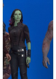 Gamora Guardians of The Galaxy 2 Cropped Jacket