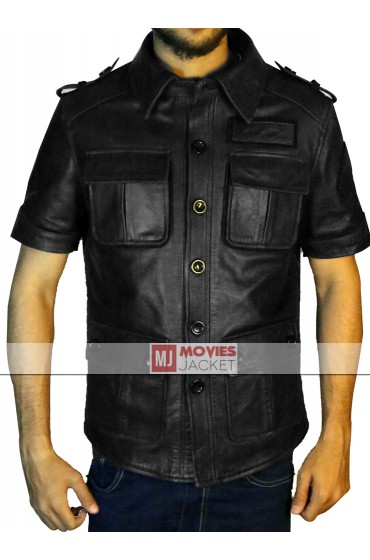 Final Fantasy XV Gladiolus Amicitia Leather Jacket