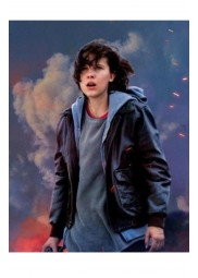 Godzilla King Of The Monsters Millie Bobby Brown Leather Jacket
