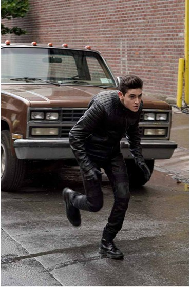 Bruce Wayne Gotham Season 5 Leather Jacket