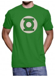 Kelly Green Color Green Lantern Logo T-Shirt
