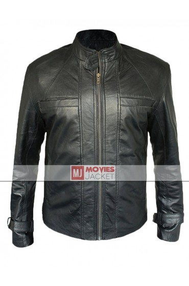 David Giuntoli Grimm Nick Burkhardt Leather Jacket