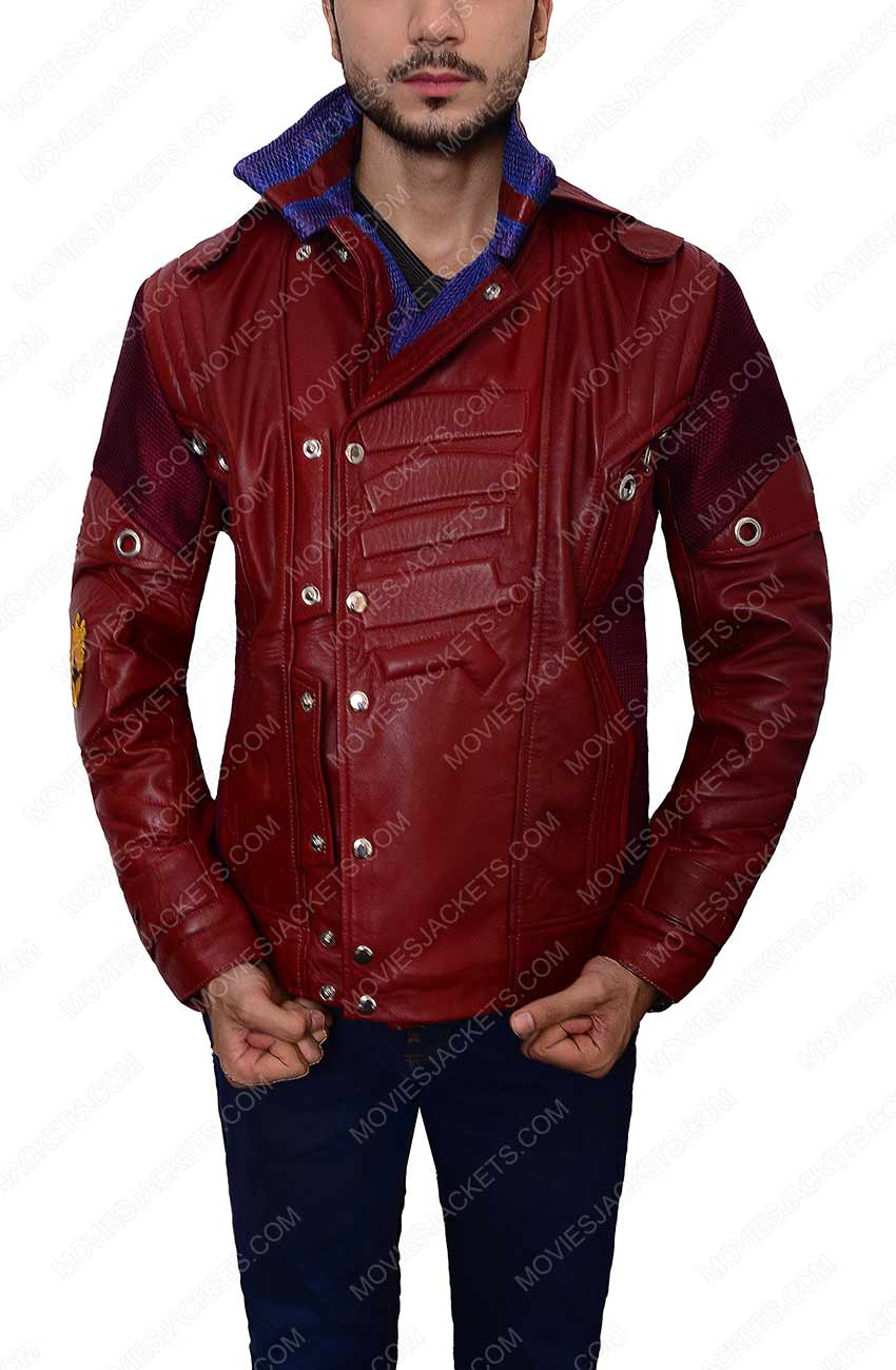Star Lord Guardians Of The Galaxy Peter Quill Jacket