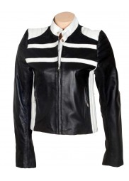 Halie & Katie Blonde Ambition Jessica Simpson Leather Jacket