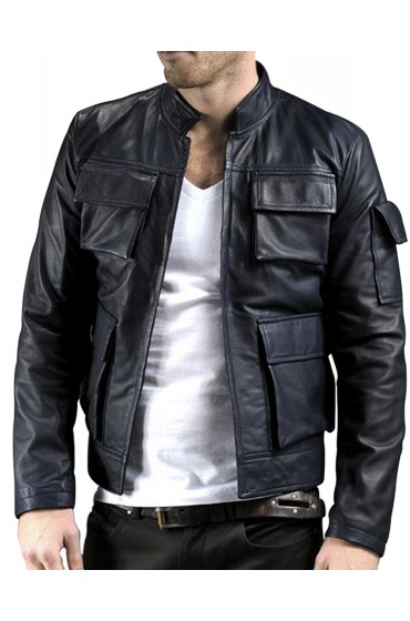 The Empire Strikes Han Solo Back Leather Jacket