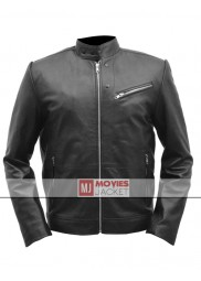 Rex Hanson Horrible Bosses 2 Movie Chris Pine Leather Jacket