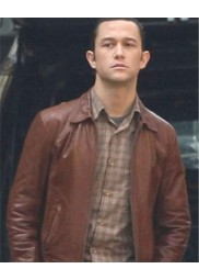 Inception Arthur Brown Joseph Gordon-Levitt Leather Jacket