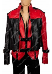 Injustice 2 Harley Quinn Leather Jacket and Vest
