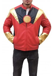 Robert Downey Jr Tony Stark Iron Man Leather Jacket