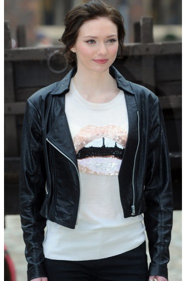 Jack The Giant Killer Eleanor Tomlinson Black Leather Jacket