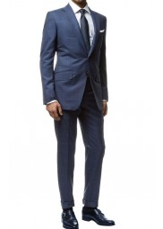 Spectre James Bond Blue Suit