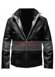 James Bond Casino Royale Daniel Craig Leather Jacket