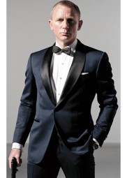Skyfall James Bond Midnight Blue Suit