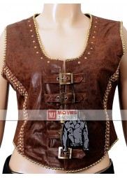 Jane Got a Gun Jane Hammond Leather Vest