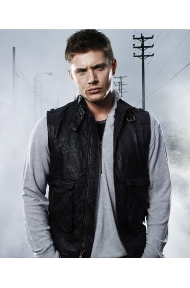 Supernatural Jensen Ackles Leather Vest