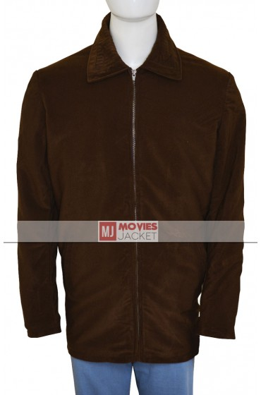 Tom Cruise Jerry Maguire Velvet Brown Jacket
