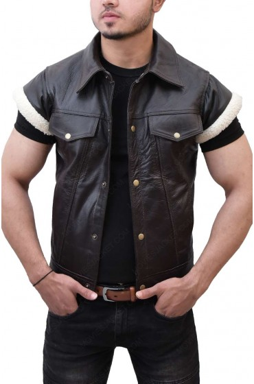 John Marston Red Dead Redemption Leather Vest