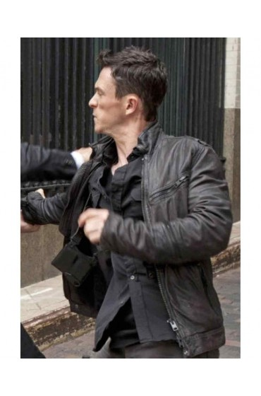 Jonathan Tucker Person of Interest Leather Jacket