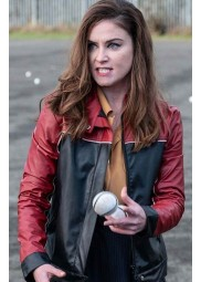 Judith Roddy Derry Girls Leather Jacket