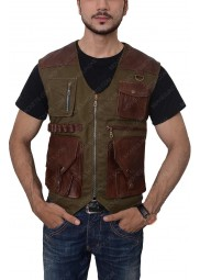 Jurassic World Fallen Kingdom Leather Vest