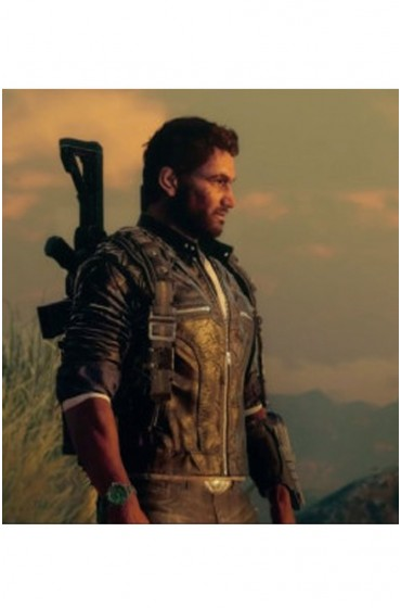 Rico Rodriguez Just Cause 4 Leather Jacket