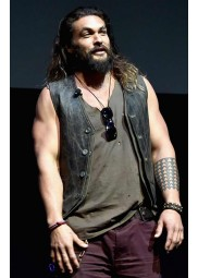 Cinemacon Justice League Jason Momoa Vest