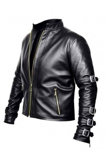 K Dash King of Fighters 99 Black Leather Jacket