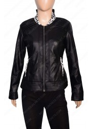 The Flash Killer Frost Black Leather Jacket