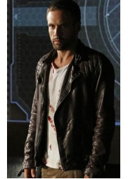 Agents of S.H.I.E.L.D. Nick Blood Leather Jacket