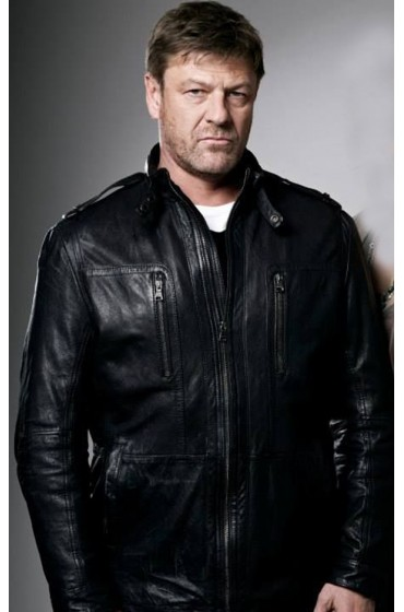 Sean Bean Legends TV Series Martin Odum Leather Jacket