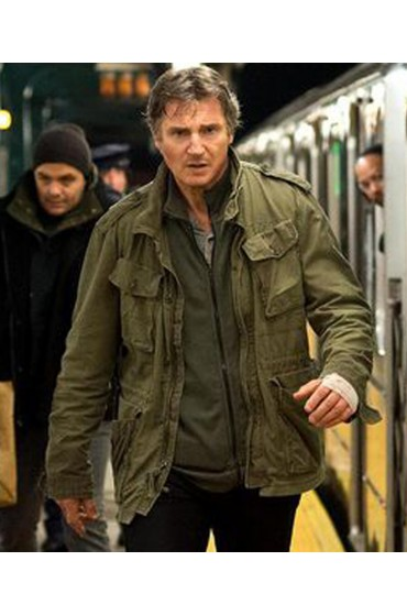 Run All Night Movie Liam Neeson Army Green Jacket