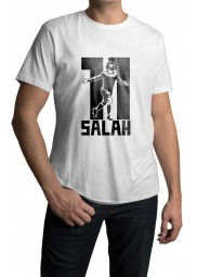 Mohamed Salah 11 White T-shirt