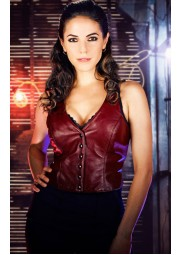 Lost Girl Bo Dennis Leather Vest