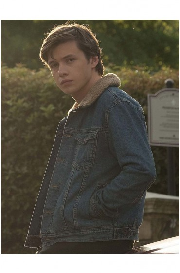 Love Simon Simon Spier Blue Jacket