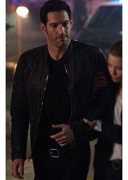 Lucifer S05 Tom Ellis Black Jacket