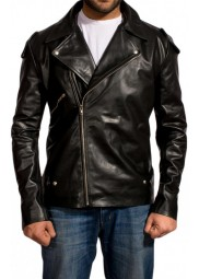 Rockatansky Motorcycle Mad Max Leather Jacket