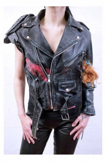 Mad Max Ladies Apocalypse Leather Jacket