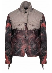 Sex Education Maeve Wiley Fringe Jacket