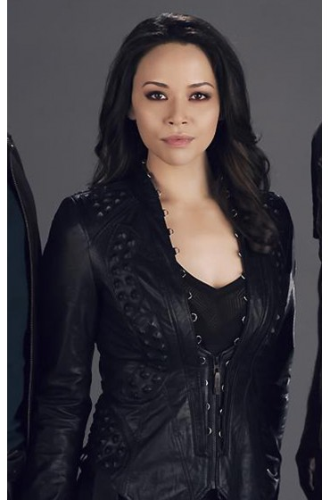 Melissa O'Neil Dark Matter Leather Jacket