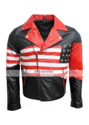 Men's American Flag Jacket