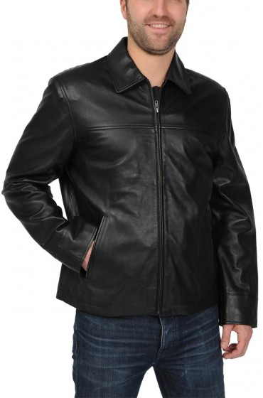 Men's Big and Tall Lambskin Jacket