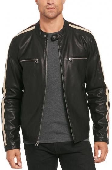 Mens Big And Tall Motorcycle Jacket