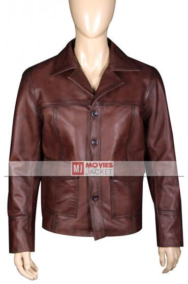 Men's Vintage Style 70s Leather Jacket