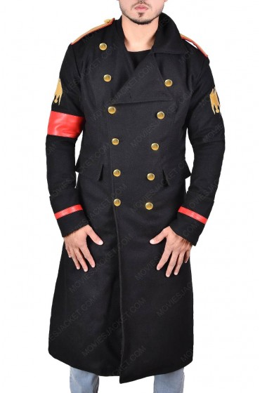 Michael Jackson Military Black Coat