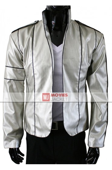 Heal The World Michael Jackson Silver Jacket