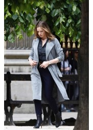 Mission Impossible Fallout Ilsa Faust Grey Coat